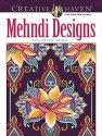 Mehndi Designs Coloring Book (Creative Haven)