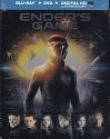 Ender's Game Blu Ray + DVD + Digital HD Ultraviolet in Collector's Steelbook Packaging