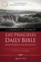 NASB, Charles F. Stanley Life Principles Daily Bible, Paperback