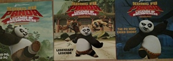 DreamWorks Kung Fu Panda Legends of Awesomeness: Good Po, Bad Po; Legendary Legends; and/or The Po Who Cried Ghost