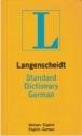 Langenscheidt's Standard German Dictionary: German-English / English-German (German Edition)