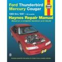 Ford Thunderbird and Mercury Cougar, 1989-1997 (Haynes Manuals)