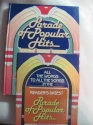 Parade of Popular Hits (Reader's Digest Songbook)