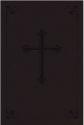 NIV Compact Bible - Dark Chocolate LeatherSoft w/ Cross