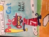 i can read - pete the cat play ball