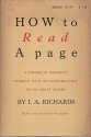 How to Read a Page: A Course in Efficient Reading with an Introduction to 100 Great Words