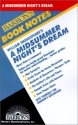 William Shakespeare's a Midsummer Night's Dream (Barron's Book Notes)