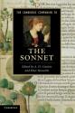 The Cambridge Companion to the Sonnet (Cambridge Companions to Literature)