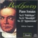 Piano Sonatas 8 14 & 23