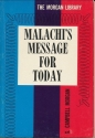 Malachi's message for today (G. Campbell Morgan library)