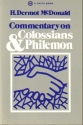 Commentary on Colossians & Philemon
