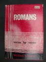 Romans Verse by Verse by William R. Newell (1938) Hardcover