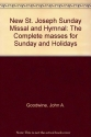 New St. Joseph Sunday Missal and Hymnal: The Complete masses for Sunday and Holidays