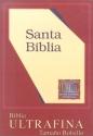 LBLA Pocket-Size Bible (Burgundy Bonded with Zipper)
