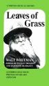 Leaves of Grass: Authoritative Texts, Prefaces, Whitman on His Art, Criticism (Norton Critical Edition)
