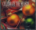 Celebrate The Season A 3-CD Collection of Holiday Music