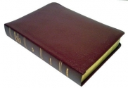Thompson Chain Reference Bible (Style 519burgundy) - Large Print KJV - Bonded Leather by Frank Charles Thompson (1988) Leather Bound