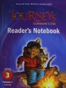 Journeys: Common Core Reader's Notebook Consumable Volume 1 Grade 3