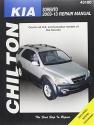 Chilton Total Car Care Kia Sorrento 2003-2013 Repair Manual (Chilton's Total Car Care Repair Manuals)
