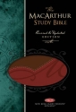 The Macarthur Study Bible New King James Version: Red Leathersoft