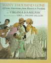 Many Thousand Gone: African Americans from Slavery to Freedom (A Borzoi book)