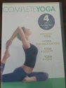 Gaiam Complete Yoga 4 DVD Set Power Yoga / For Relaxation / Sculpt / Tone