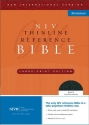 NIV Thinline Reference Bible, Large Print (New International Version)