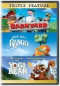 Barnyard/Rango/Yogi Bear  (Triple Feature)