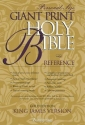 KJV Holy Bible Giant Print Personal Size Reference Gold Edition