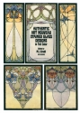 Authentic Art Nouveau Stained Glass Designs in Full Color (Dover Pictorial Archive Series)