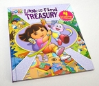 Dora The Explorer Look and Find Treasury