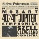 Mozart: Symphony No 40; Symphony No 41 / George Szell / Cleveland Orchestra (CBS Great Performances)