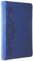 HCSB Personal Size Bible Dark Blue Scrolls