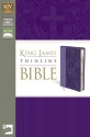 KJV, Thinline Bible, Imitation Leather, Purple, Red Letter Edition