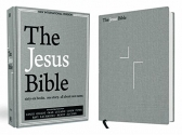 The Jesus Bible, NIV Edition, Cloth over Board, Gray Linen