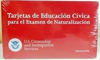 Tarjetas de Educacion Civica Para el Examen de Naturalizacion (Spanish Edition)
