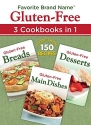 Favorite Brand Name Recipes - Gluten-Free: 3 Cookbooks in 1