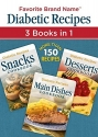 Diabetic Recipes 3 Books in 1: Snacks, Main Dishes, and Desserts