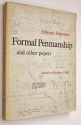 Formal Penmanship and Other Papers