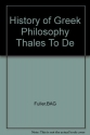 History of Greek Philosophy (2 Volumes)