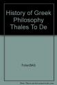 History of Greek Philosophy (2 Volumes)