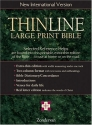 Thinline Large Print Bible, New International Version, English