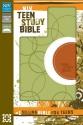 NIV, Teen Study Bible, Leathersoft, Green