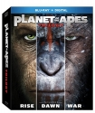Planet of the Apes Trilogy  [Blu-ray]