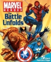 Marvel Heroes the Battle Unfolds Fold-Out Flap Book