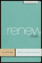NIV, Renew Bible, Hardcover, Green Linen: Refresh Your Heart, Soul and Mind