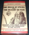The Origin of Species and the Descent of Man (Modern Library Giant, G27)