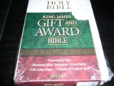 King James Gift and Award Bible