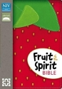 NIV, Fruit of the Spirit Bible, Imitation Leather, Red, Red Letter