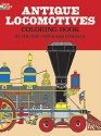 Antique Locomotives Coloring Book